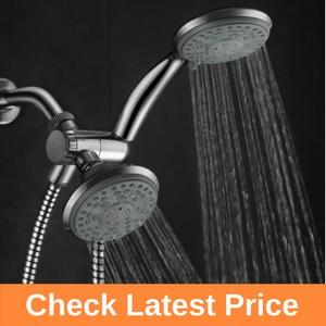 Aquadance HotelSpa 24-Setting Slimline Showerhead