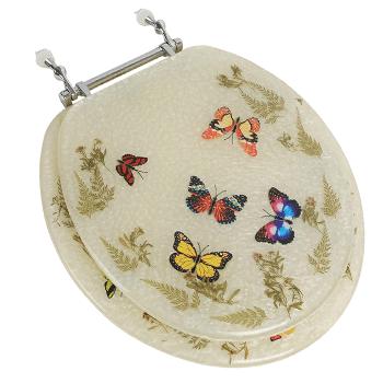Bath Décor Butterfly Design Toilet Seat Review