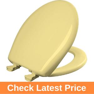 Bemis 200SLOWT 211 Yellow Round Toilet Seat Review