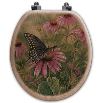 Butterfly Oak Toilet Seat Review
