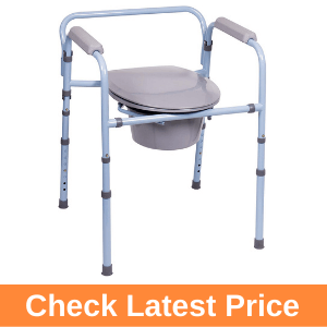 Carex 3-in-1 Folding Bedside Commode Review