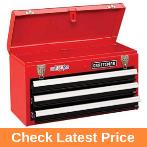 Craftsman 3-Drawer Metal Portable Chest Toolbox