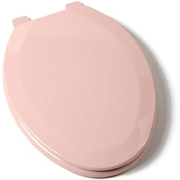 Deluxe Venetian Pink Wood Elongated Toilet Seat Review