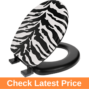 Ginsey Home Solutions Zebra Round Toilet Seat Review