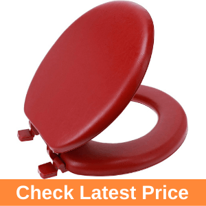 Ginsey Standard Soft Red Round Toilet Seat Review
