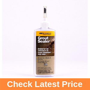 Miracle Sealants GRT SLR, Grout Sealer Review