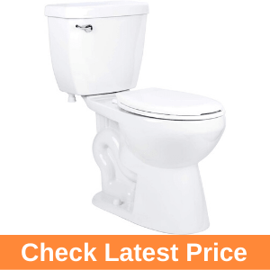 Miseno MNO1500C Bella Two-Piece High Efficiency Toilet with Round-Front Review