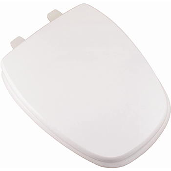 Premium Molded Wood Seat White Elongated Closed Front Toilet Seat Review