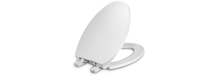 Stop Toilet Seat Sliding Sideways