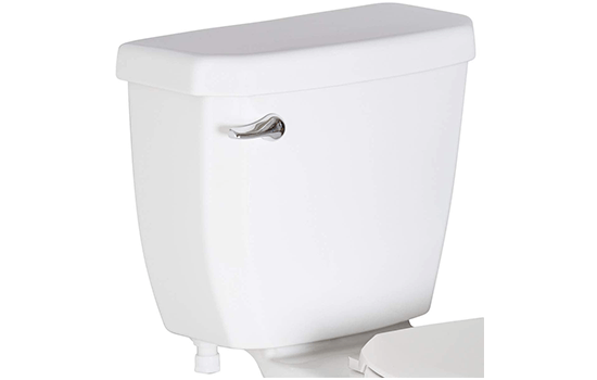 What is the purpose of a toilet tank