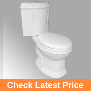 White Ceramic Round Space Saving Dual Flush Corner Toilet Review