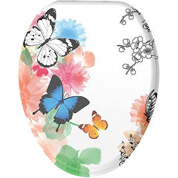 best butterfly toilet seat