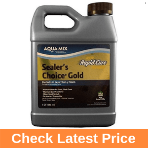Aqua Mix Sealer's Choice Gold Quart Review