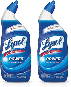 how to open lysol toilet bowl cleaner cap